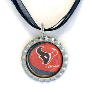 Houston TEXANS Handmade Football Necklace